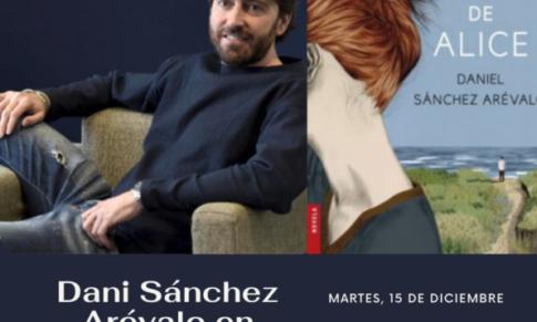 Dani Sánchez Arévalo en el Bibliotren