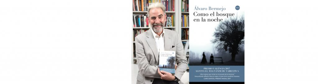 Álvaro Bermejo en el Bibliotren