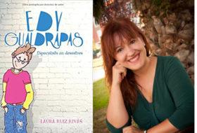 Laura Ruiz galardonada con el Premio Promesa de literatura juvenil con su novela, Edy Gualdrapas
