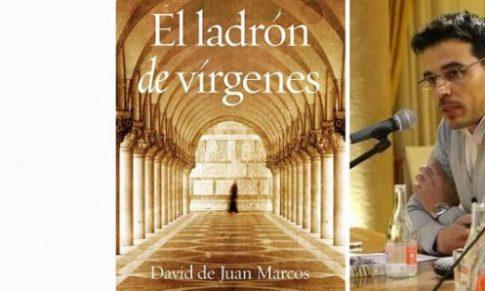 David de Juan en el Bibliotren