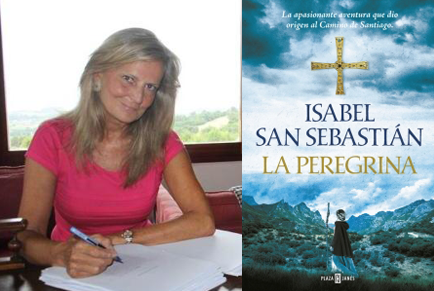 Isabel San Sebastián en el Bibliotren