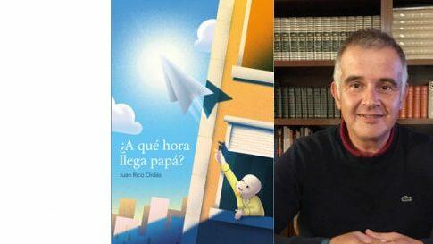 Juan Rico Ordás en el Bibliotren