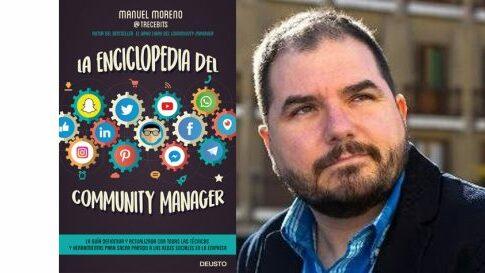 Manuel Moreno en el Bibliotren