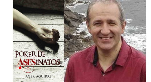 Ager Aguirre finalista del Premio Literario Amazon