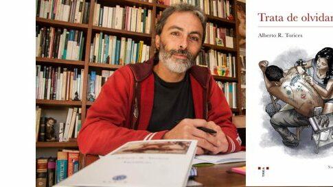 Alberto R. Torices en el Bibliotren
