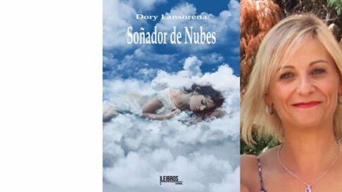 Soñador de nubes en el Bibliotren