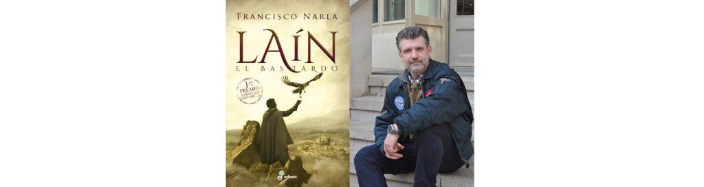 Francisco Narla en el Bibliotren
