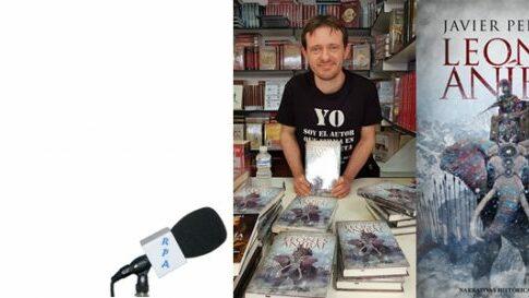 Javier Pellicer visita el Bibliotren