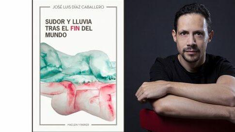 José Luis Díaz en el Bibliotren