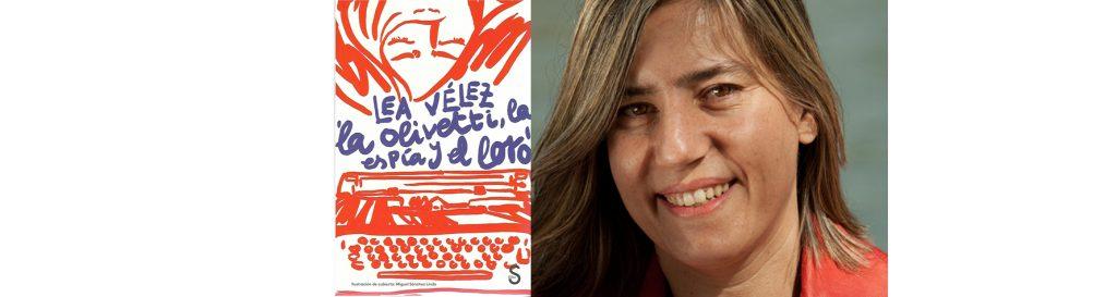 Lea Vélez en el Bibliotren