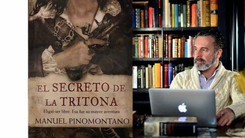 Manuel Pinomontano en el Bibliotren
