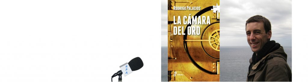 Rodrigo Palacios en el Bibliotren