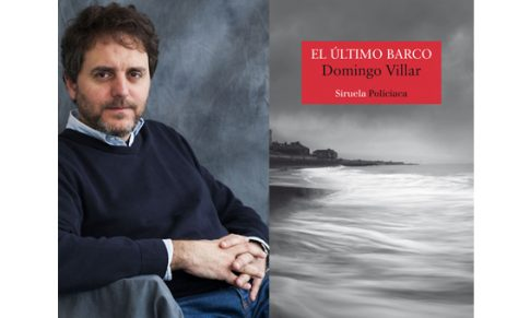 Domingo Villar visita el Bibliotren