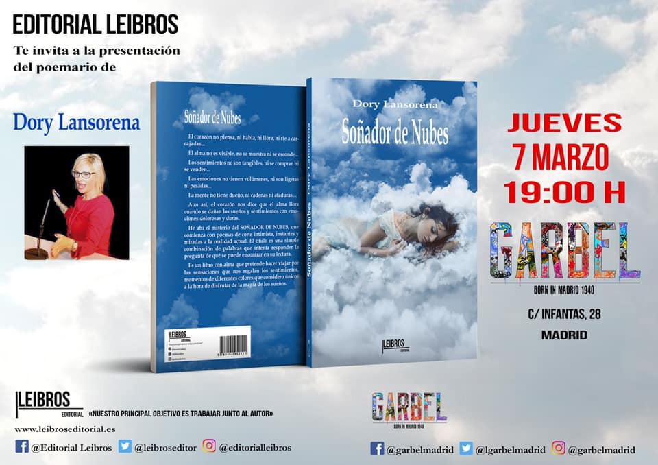Dory Lansorena presenta su último poemario en Madrid