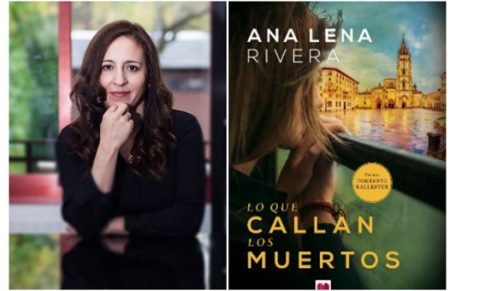 Ana Lena en el Bibliotren