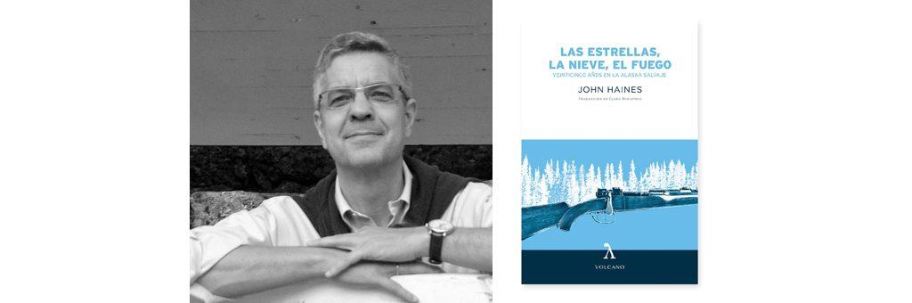 Javier García, editor de Vulcano libros