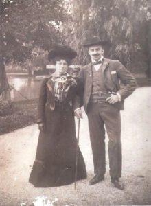 La Marquesa de Parabere con su marido