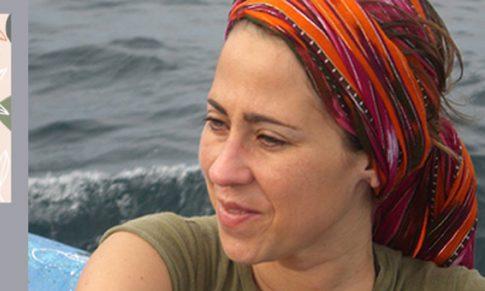 Marta Sarramián en el Bibliotren