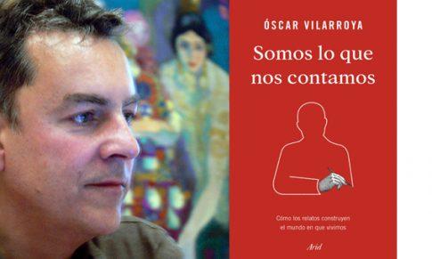 Óscar Vilarroya en el Bibliotren