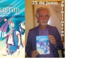 Santiago García-Clairac en el Bibliotren