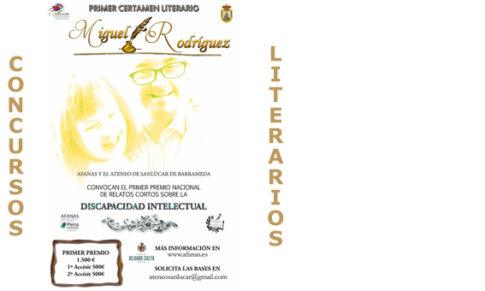 I Premio nacional de relatos cortos Miguel Rodríguez