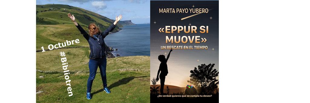 Marta Payo presentará su novela juvenil en el #BibliotrenAEN