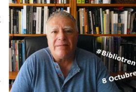 Enrique del Teso presenta su ensayo en el Bibliotren