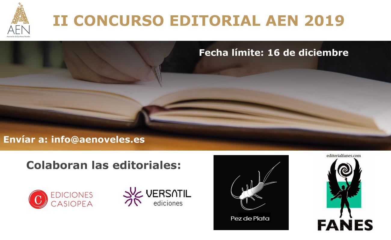 Segunda edición del Concurso Editorial AEN 2019