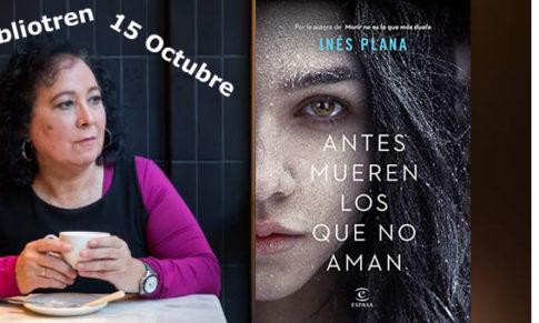 Inés Plana estará en el Bibliotren