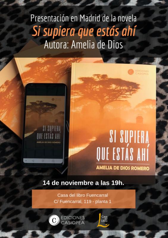 Amelia de Dios presenta en Madrid