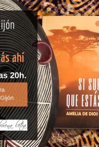 Amelia de Dios presenta su segunda novela en Gijón