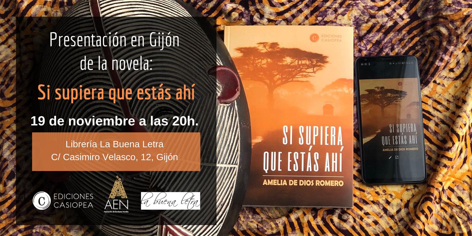 Amelia de Dios presenta en Gijón