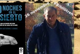 Julián Gutiérrez Conde visita el Bibliotren
