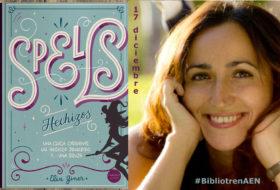 Elia Giner presenta Spells en el Bibliotren