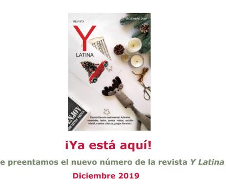 Nuevo número de Y Latina diciembre 2019