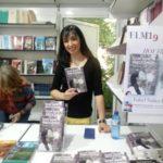 Isabel Núñez en la Feria del Libro de Madrid