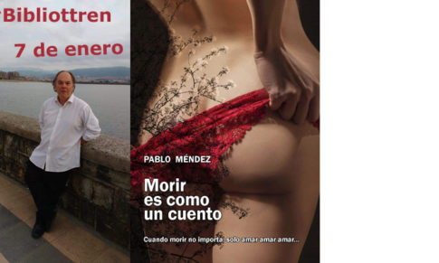 Pablo Méndez en el primer Bibliotren de 2020