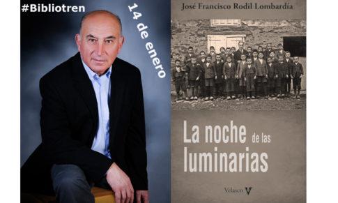 José Francisco Rodil en el Bibliotren