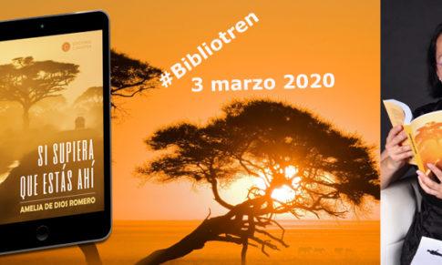 Amelia de Dios presenta nueva novela en el Bibliotren