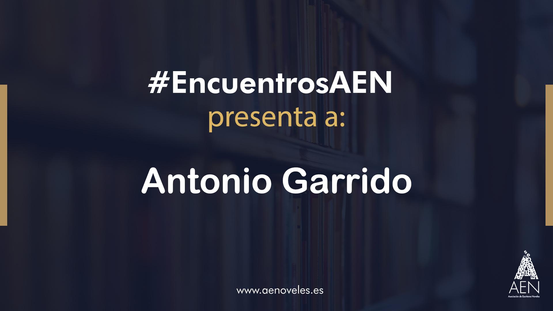 EncuentroAEN con Antonio Garrido