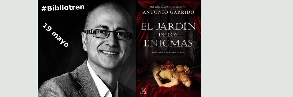 Antonio Garrido regresa al Bibliotren