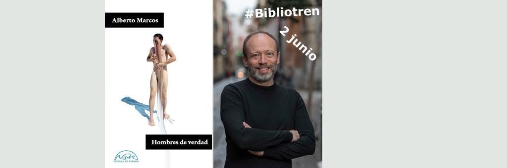 Alberto Marcos en el BibliotrenRPA