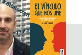 Hugo Egido en el Bibliotren
