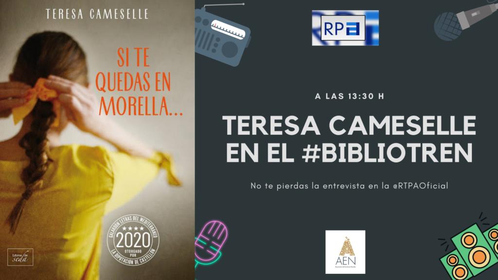 Cameselle presenta su última novela en el Bibliotren
