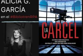 Alicia G. García de nuevo en el Bibliotren