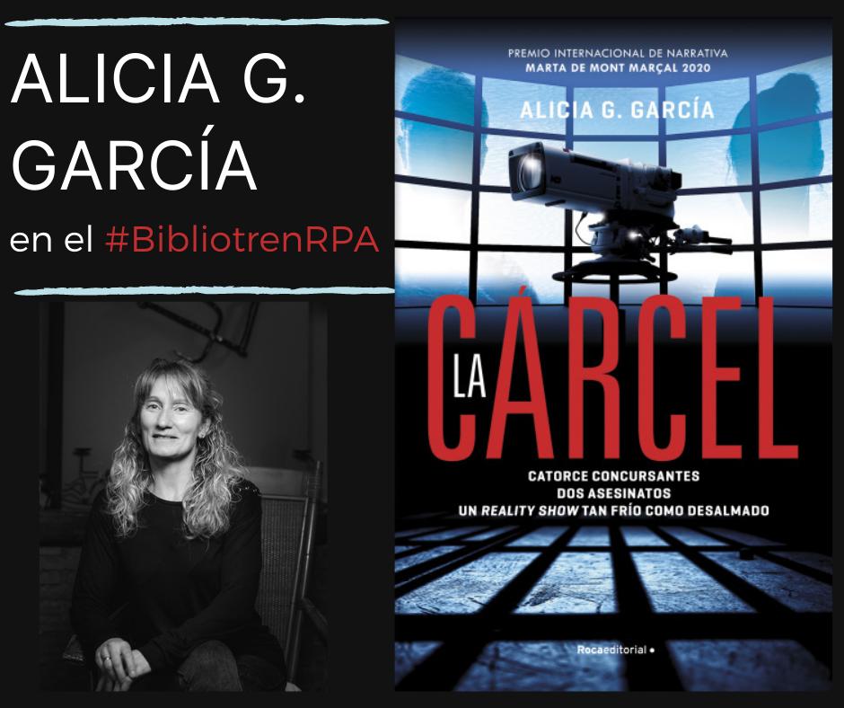 Alicia G. García_en el BibliotrenRPA