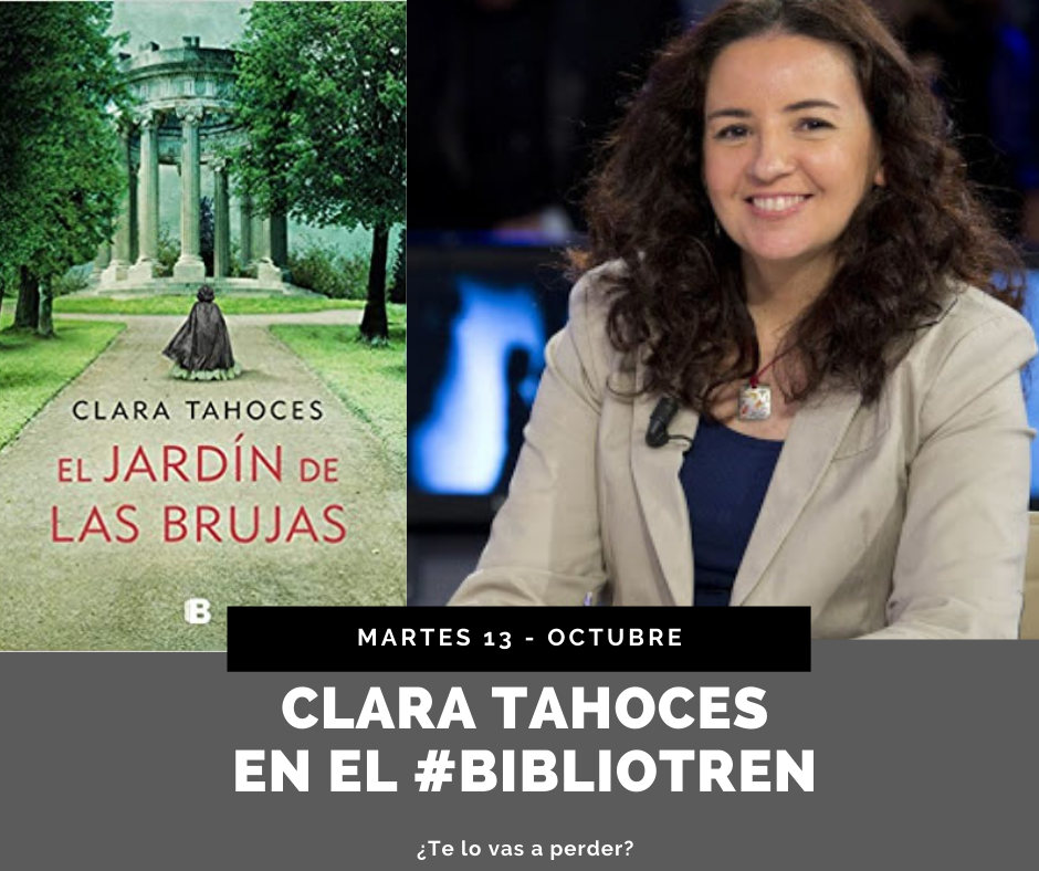 Clara Tahoces en el Bibliotren_13_octubre