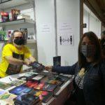 Jorge Urreta en la Feria del Libro de Bilbao 2020