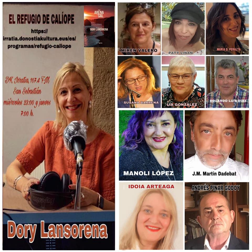 Presentación y recital poesía en directo con Dory Lansorena