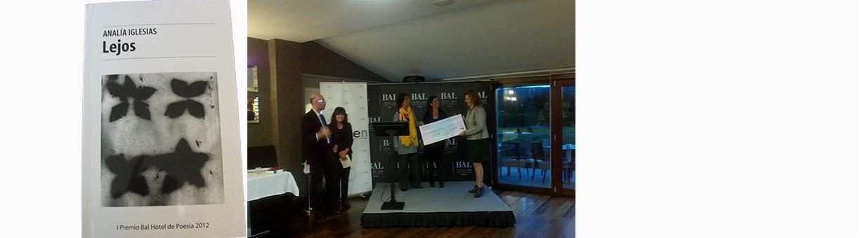 Entrega primer Premio de poesía BAL Hotel